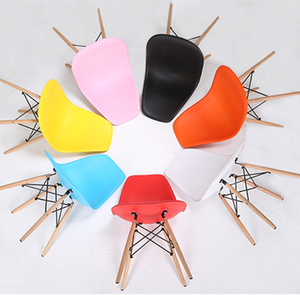 High quality children plastic pink chairs modern wooden stool