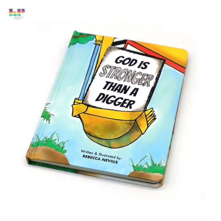 Top quality and low price support children's board books printing service