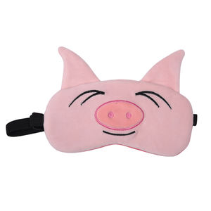 2020 New Animal Design Hot Selling Amazaon Comfortable U Shape Memory Foam Travel Neck Pillow with Eye Mask