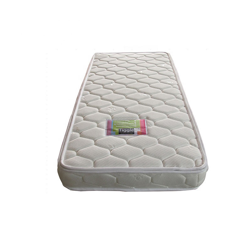 Mini pocket spring baby crib mattress