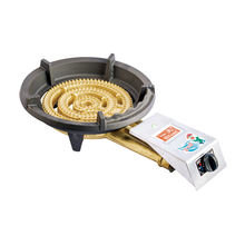 Factory direct 3 ring flame low pressure gas stove