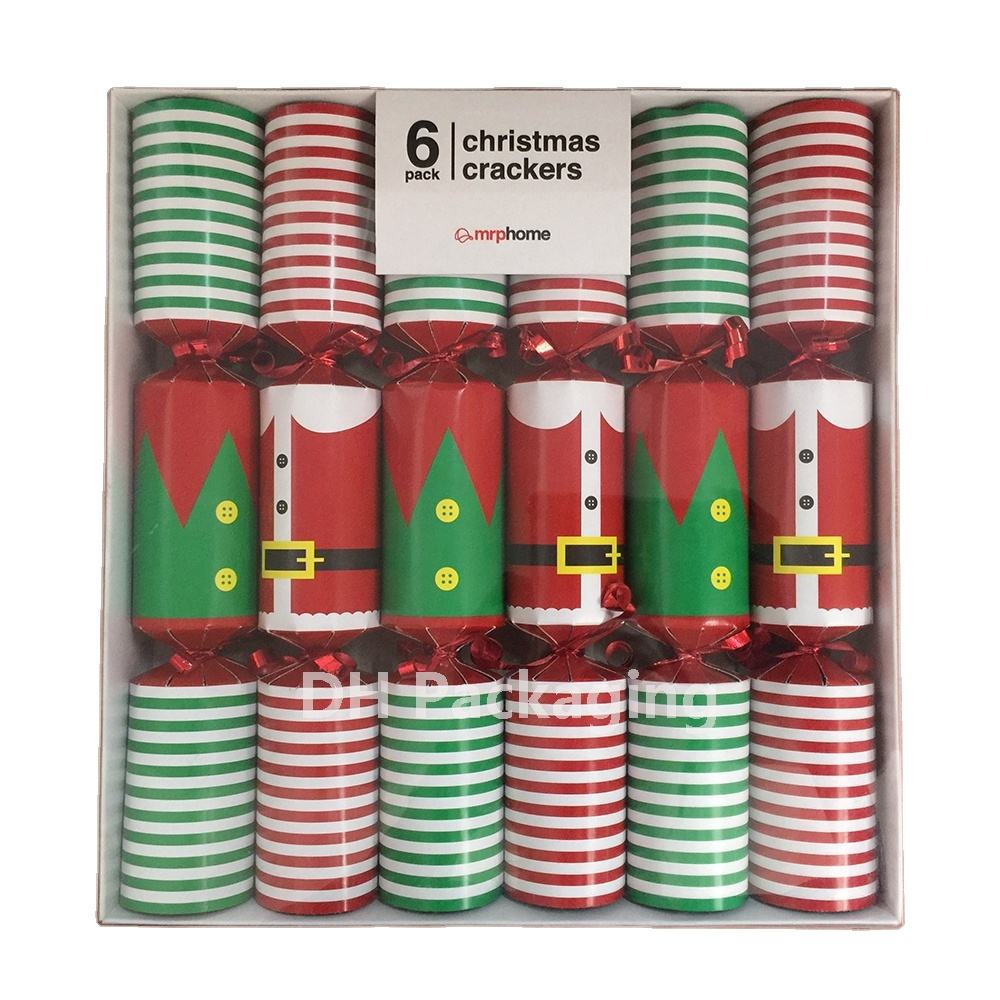 6 Pack Luxury Christmas Crackers Christmas clothes Design