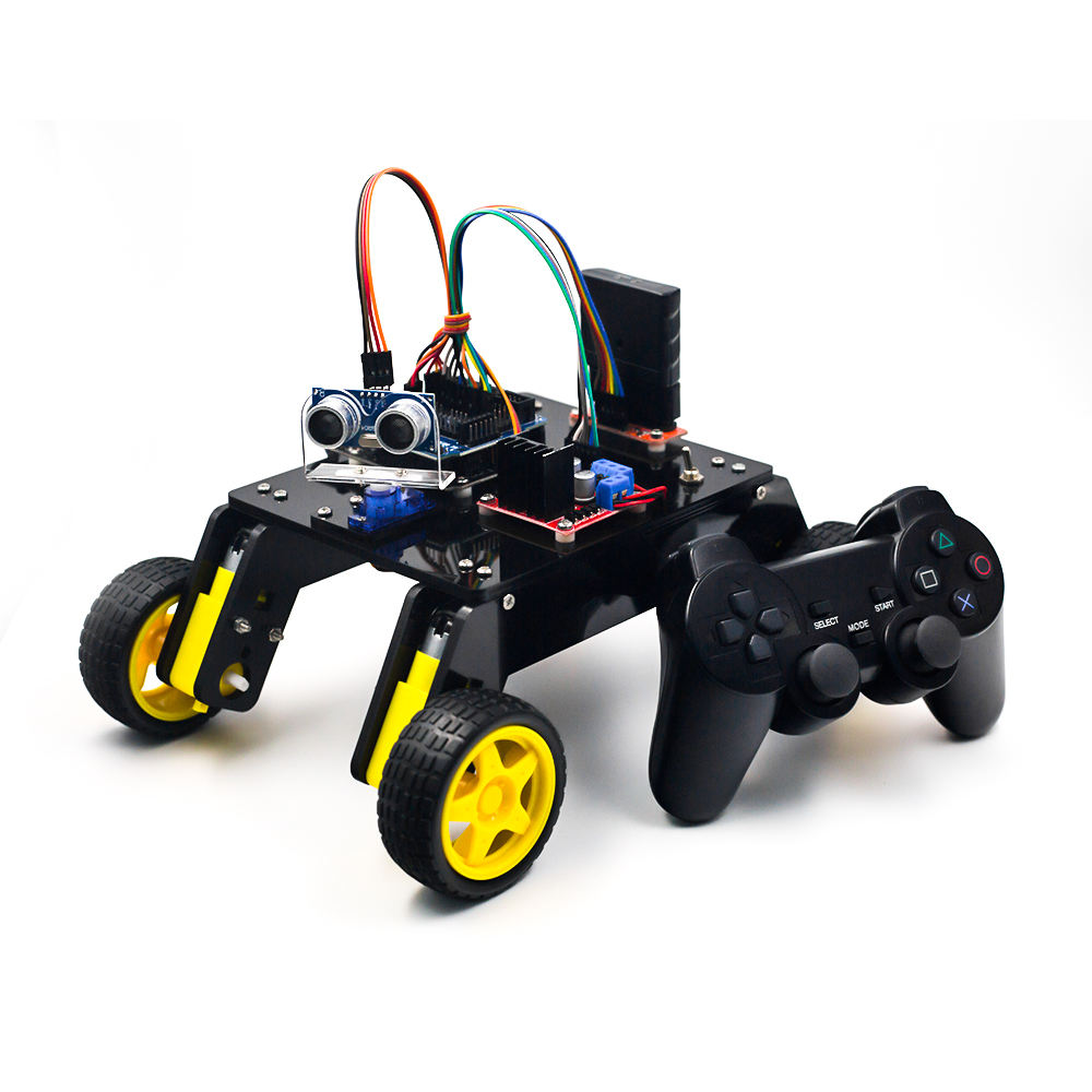 DIY Remote Control Smart Robot Car Kit for STEAM Education