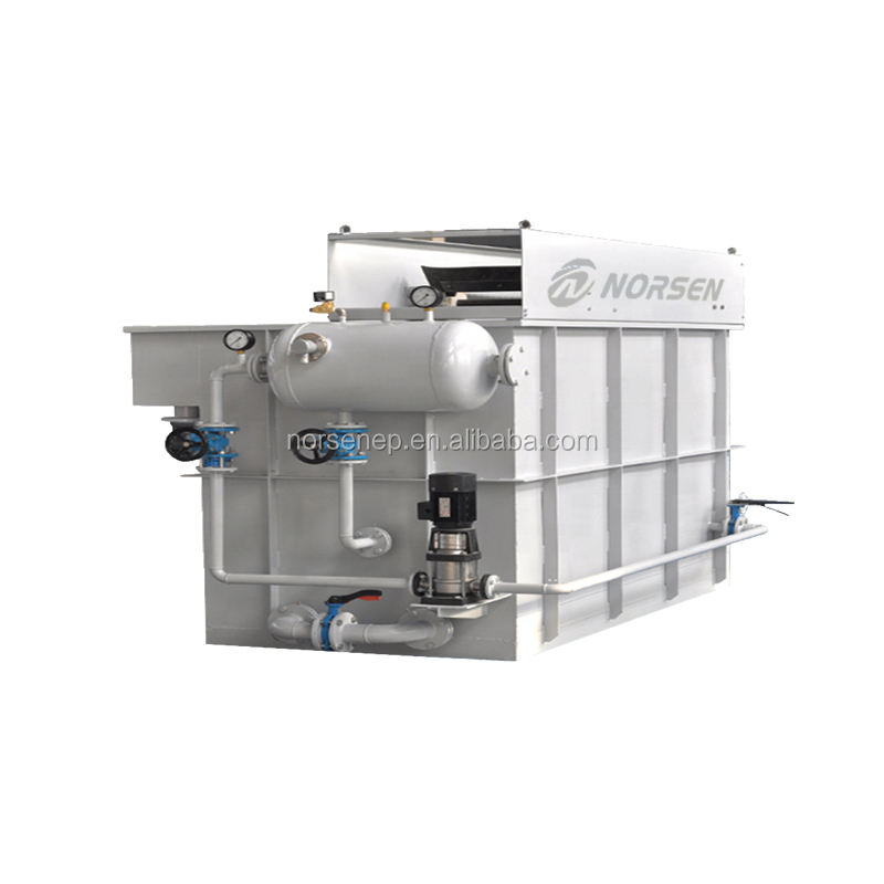 Wastewater Tank DAF Unit Micro Bubble Separator Oil GAS Industry DAF Dissolved Air Flotation Machine