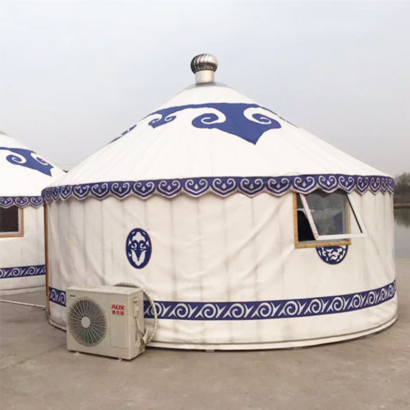 31 Square Meters Outdoor Luxury Mongolian Yurt safari tent