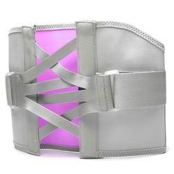 Lee-Mat unisex breathable orthopedic back spine support brace