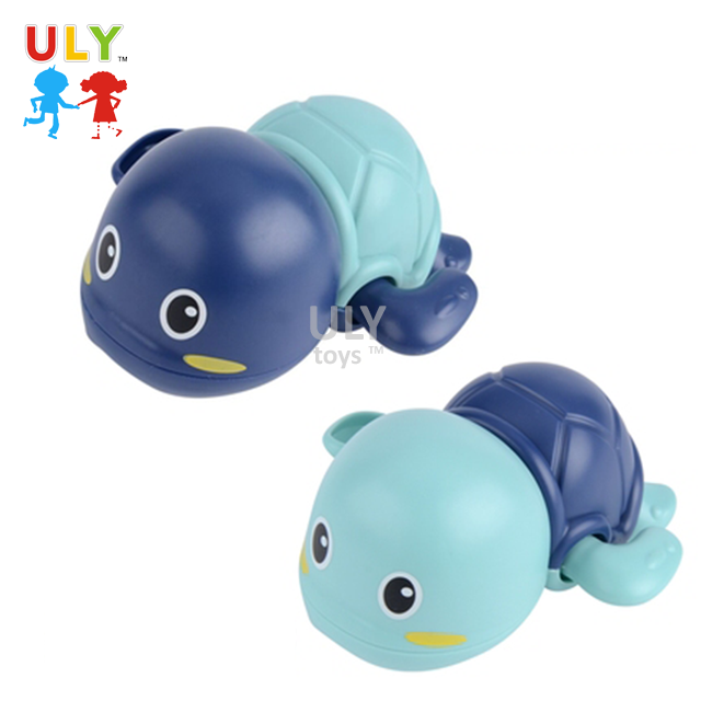 2020 Funny baby bath toy blue play turtle toy for kid