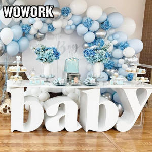 WOWORK hot selling new style large baby letter table for birthday party wedding LOVE table cake table