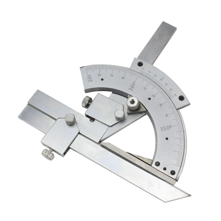 Multifunction sector fold ruler Angle Engineer Protractor 320 Degree Protractor Multi Angle Ruler