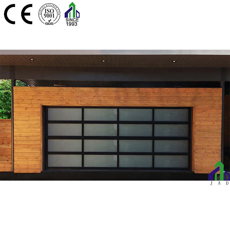 Transparent Garage Sectional Doors Glass Panel Garage Door Prices for residential