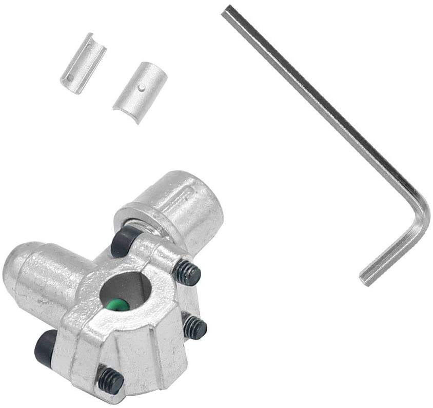 SUPCO BPV-31 Bullet Piercing Tap Valve Needle Valve 1/4 , 5/16 , 3/8 Inch OD Pipes Copper Tube Refrigeration Rehydration Tool