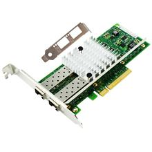 PCI Express x8 Dual SFP+ Port 10Gbps Network Interface Card Compatible With X520-DA2