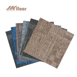 Office PVC backing Hotel office Commercial dustproof fire retardant floor carpet tiles