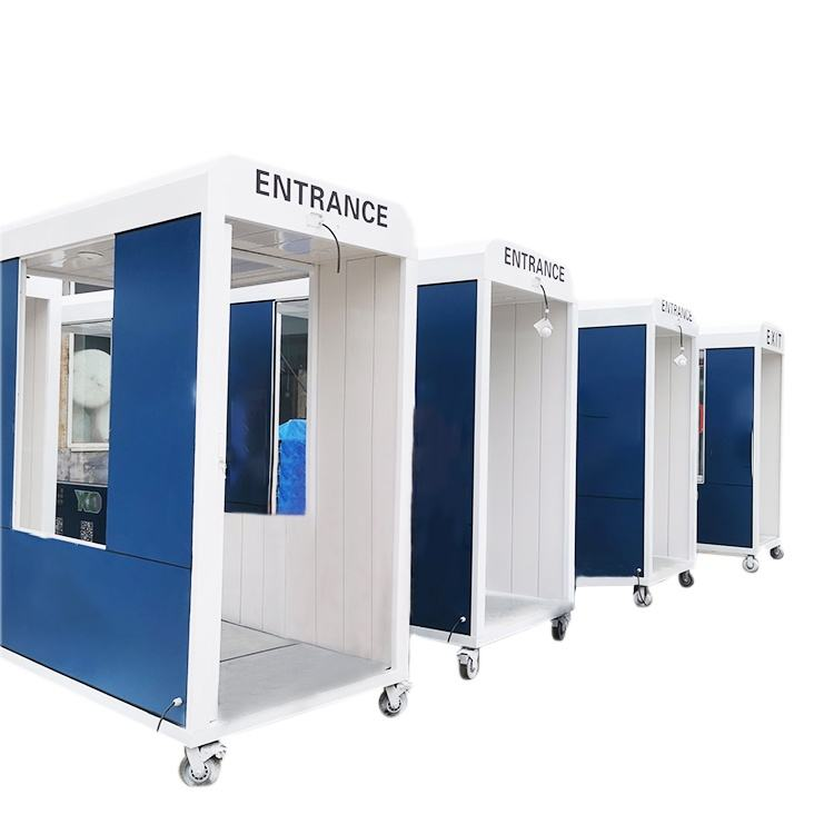 disinfection tunnel sterilizing booth with hand disinfection device for outdoor