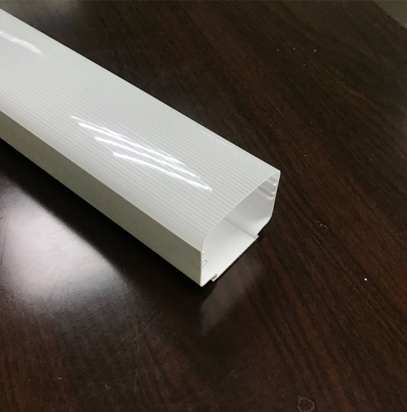 Milky White Plastic Extrusion PC Diffusing Flexible LED Light Rod Tube Cover