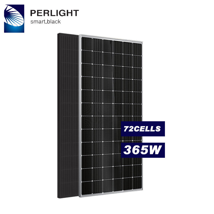 2019 CSA TUV CEC Certificate perlight 365w solar panel with good price in stock