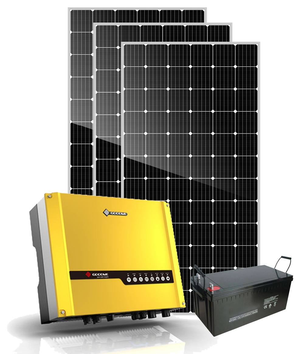 5000w hybrid solar system 5kw solar power kit off grid home lighting system price 5000 watt solar generator hybrid system