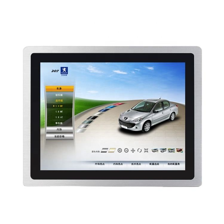 computers all in one high industrial type quality 15inch industrial panel pc price front IP65 waterproof touch screen computer