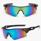 Stylish Design Sun Shade Sports Eyewear Sunglasses Polarized With 5 Interchangeable Lens Outdoor Cycling Sun Glasses For Mens