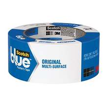 Blue Painter's Tape for Multi-Surfaces , masking tape for painted walls and trim, woodwork, glass and metal