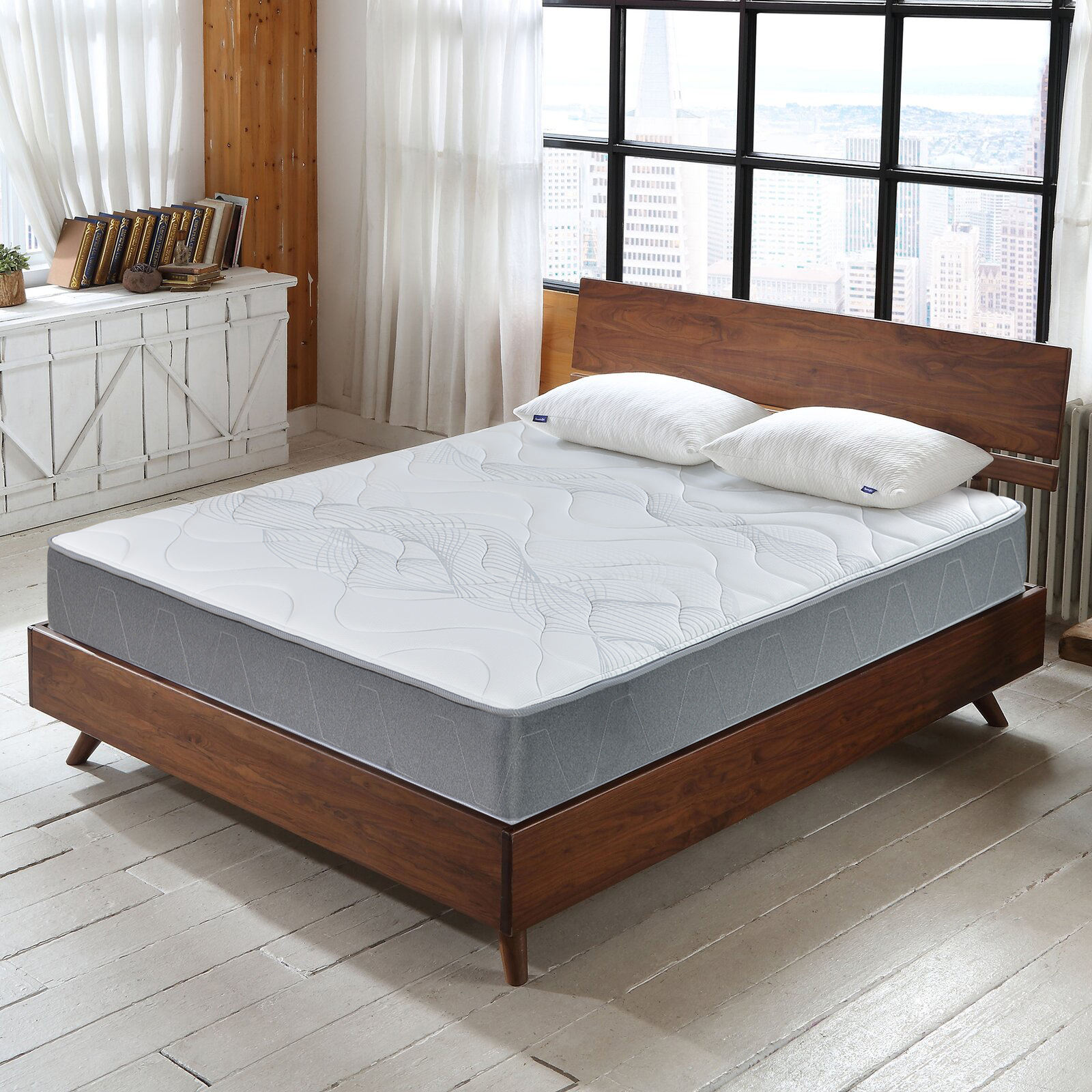AIDI Chinese Luxury And Comfortable Used Hotel Mattresses Bed For Sale