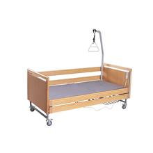 Cheap price home nursing bed wooden