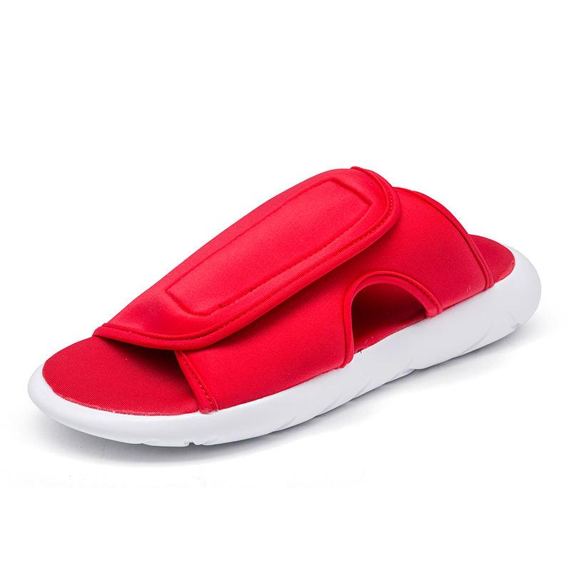 Atacado personalizado chinelos de verão dos homens de lazer ao ar livre respirável material elástico sapato