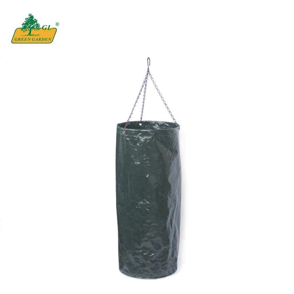2020 Trending Product for Vegetable Planting Upside Down Tomato Planter PE Woven / Metal
