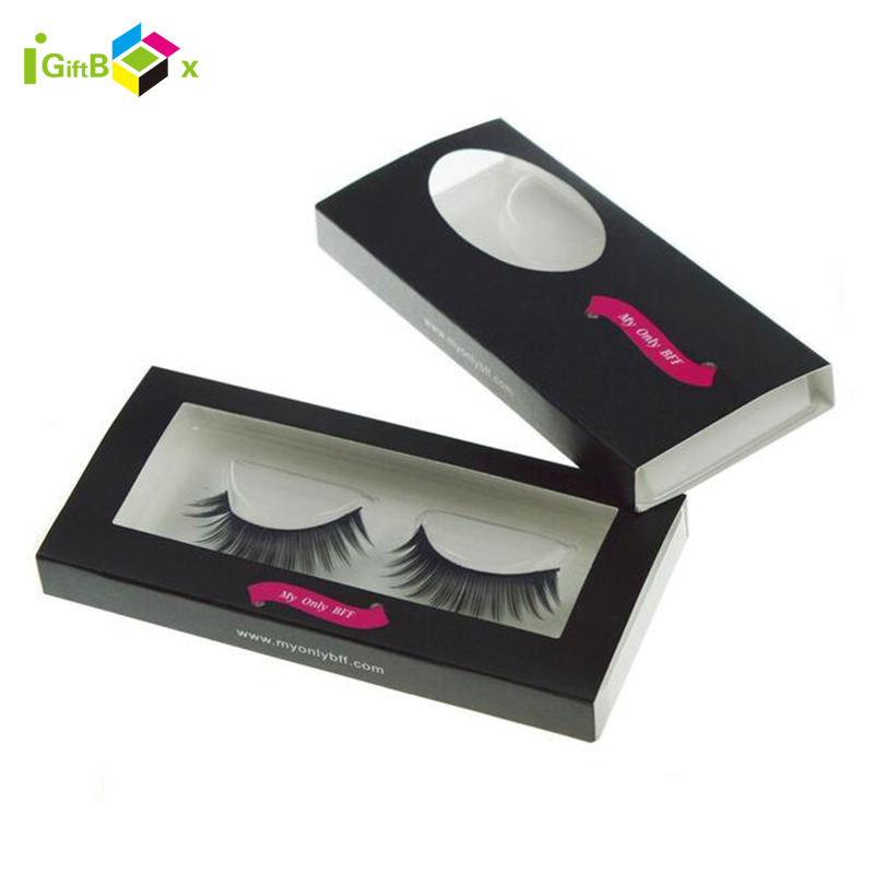 2021 Hot Eyelashes Private Label Vendor Empty Paper Packagging Box Eyelash Extensions