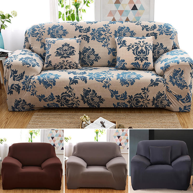Modern Floral Print Sofa Cover Universal Sofa Cover Armchair Sofa Bed Cover