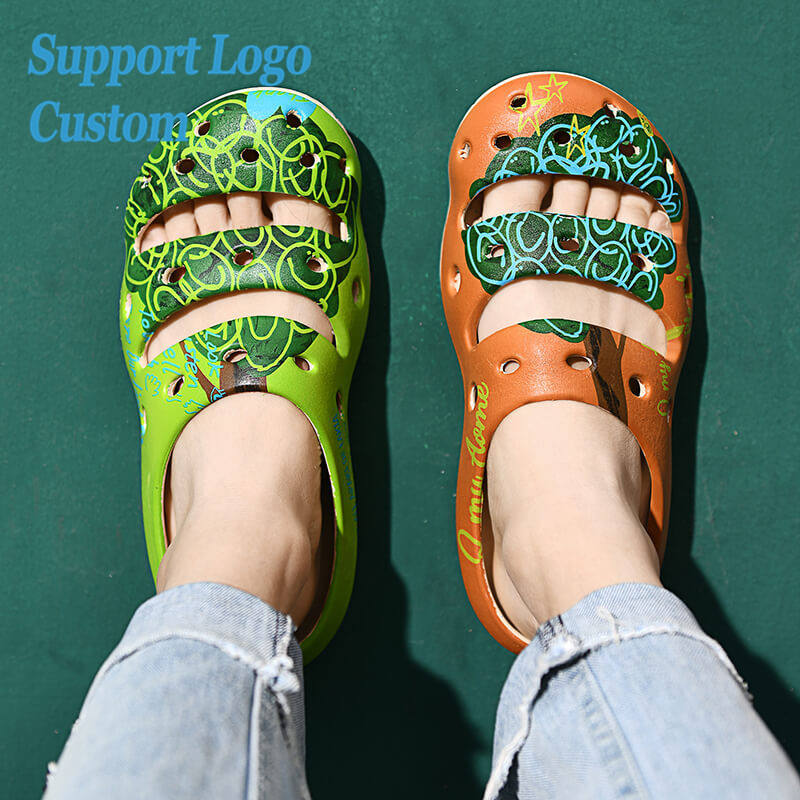 Wholesale Factory Price New Design EVA Anti-Slip Unisex Clogs Shoes Custom Packaging Classic Hole Shoes