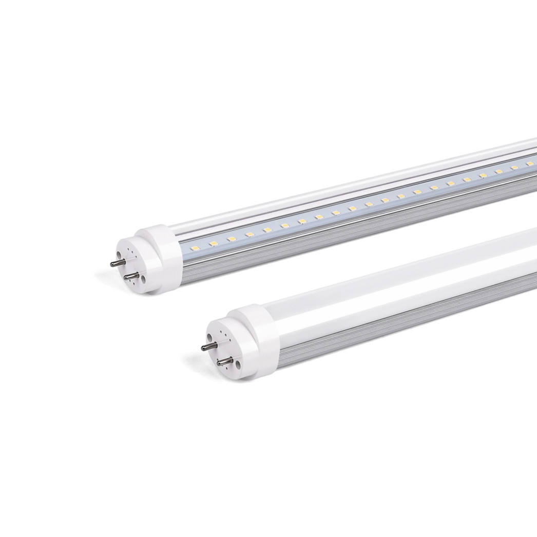 8FT 2.4M 96'' Type B Ballast Bypass Direct Wire Aluminum PC Single Pin FA8 Hot Sale ETL approved LED T8 Retrofit Tube lights