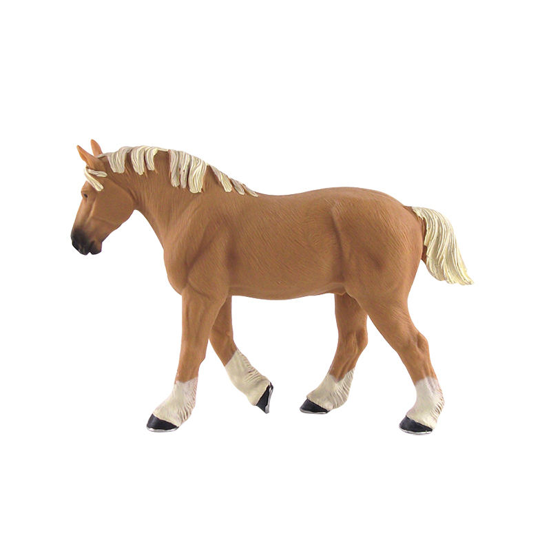 Smart Injection PVC Horse and cow Toy Figure Animal Shape Action Figure
