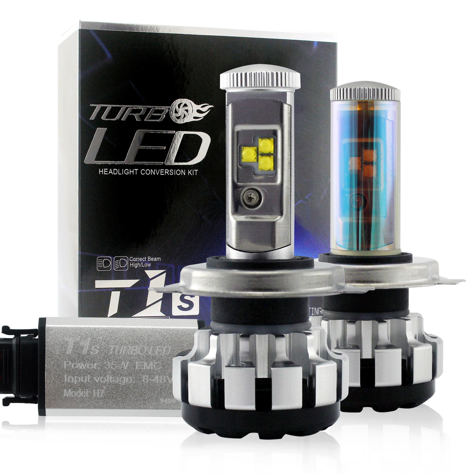 LED kit d'éclairage 80w lumineux Led Lampe Ampoule Kit Puce Importée 9005 9006 h11 H4 H1 T1S tur bo Phare Mené automatique