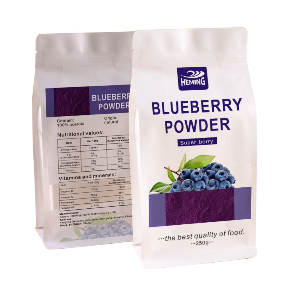 100% natural fruit blueberry extract solid beverage blueberry juice powder