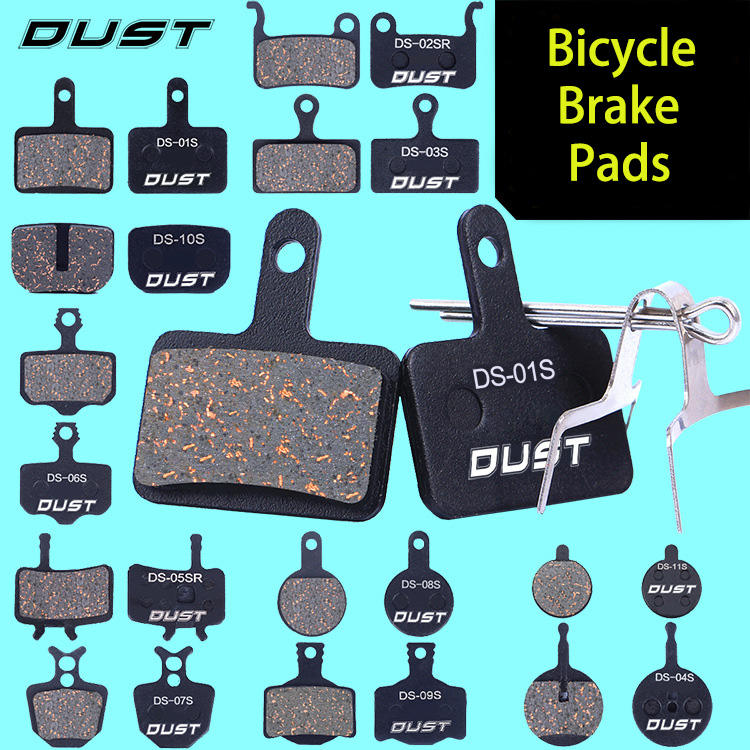 Risk Top DUST MTB Bicycle TAIWAN ZOOM5 Semi-Metallic Pads for ZOOM 280 DB 450 DB650 ONE Disc Brake