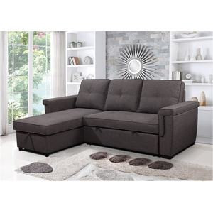 Vance Enkele Futon L Vormige Sleeper Sofa Bed Vouwen Bed Sofa Cum Bed