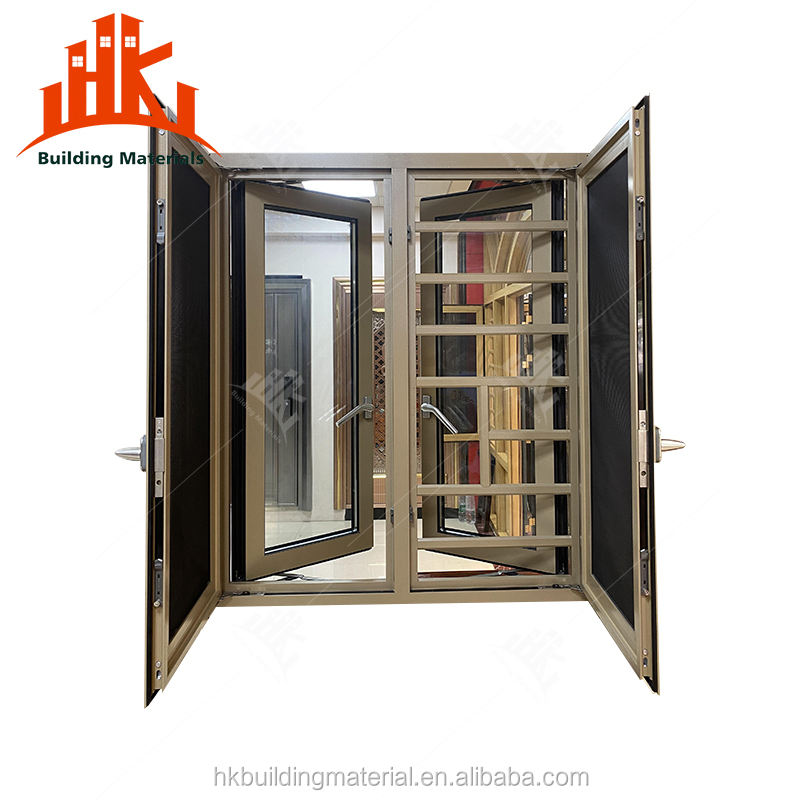 aluminium double glazed casement windows wooden window designs iron window design