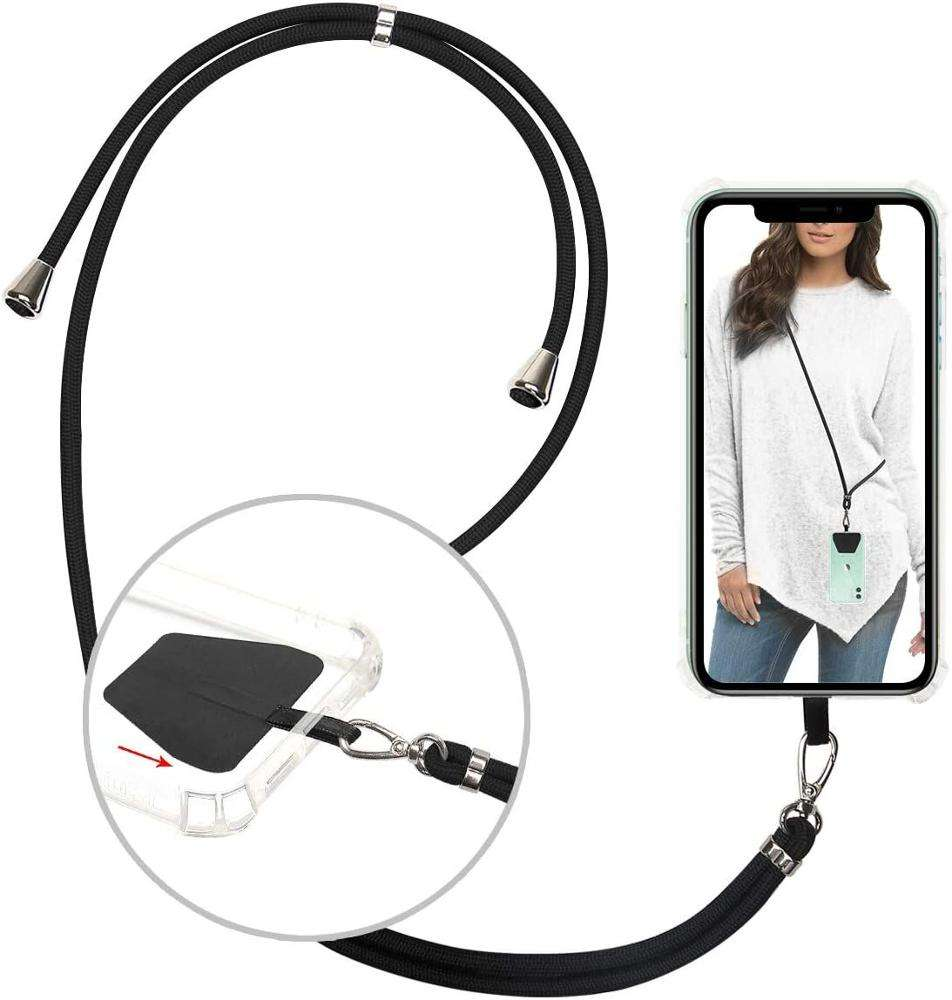 Universal Crossbody Length Adjustable Mobile Phone Strap, Phone Neck Strap