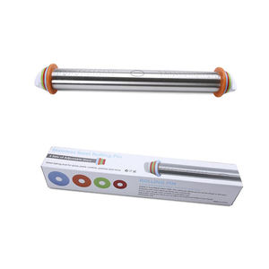 Dough Roller Stainless Steel Baking Non-Stick Surface Rolling Pin