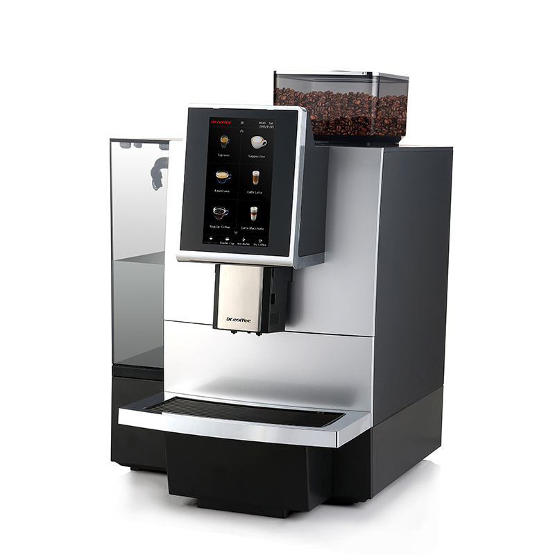 Dr.Coffee F12 Big classic 21 bar commercial fully automatic coffee dispenser factory espresso machine with grinder