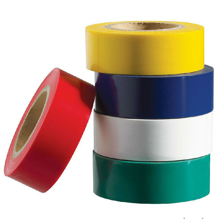Sunlight Resistanrt CE UL CSA BSI Waterproof Electrical Cable Insulation PVC Masking Seal Tape