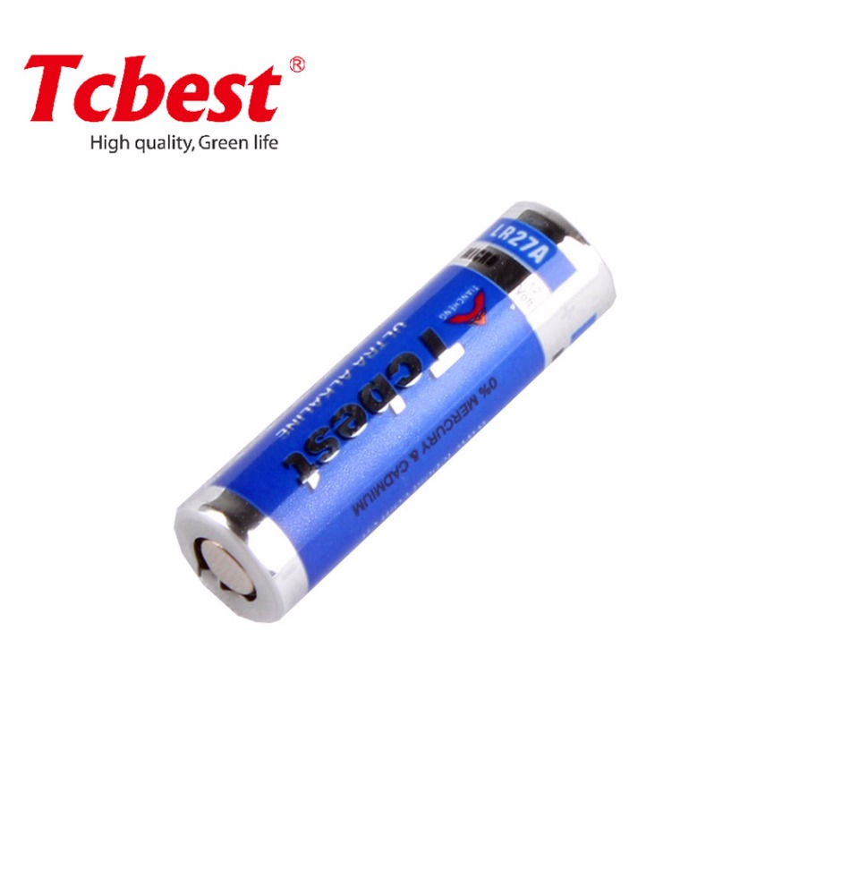 Tcbest 12v 23a alkaline battery A23 23A A27 27A primary dry battery