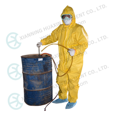 Airtight type(heavy) chemical resistant clothing