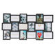 New design Jinnhome Europe Style Plastic 3D Collage Holds 18pcs 5x7 Photos Multiple Mounted Wall Picture Frame Group