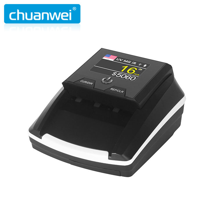 AL-136T Auto Recognition Currency Counterfeit Detector