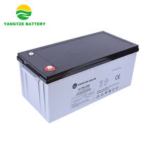 Free maintenance deep cycle 12v 200ah solar battery pack