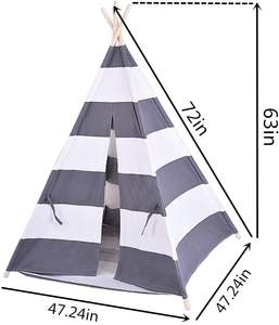 Baby Play Toy outdoor camping children cotton Indian kids Teepee indoor tent
