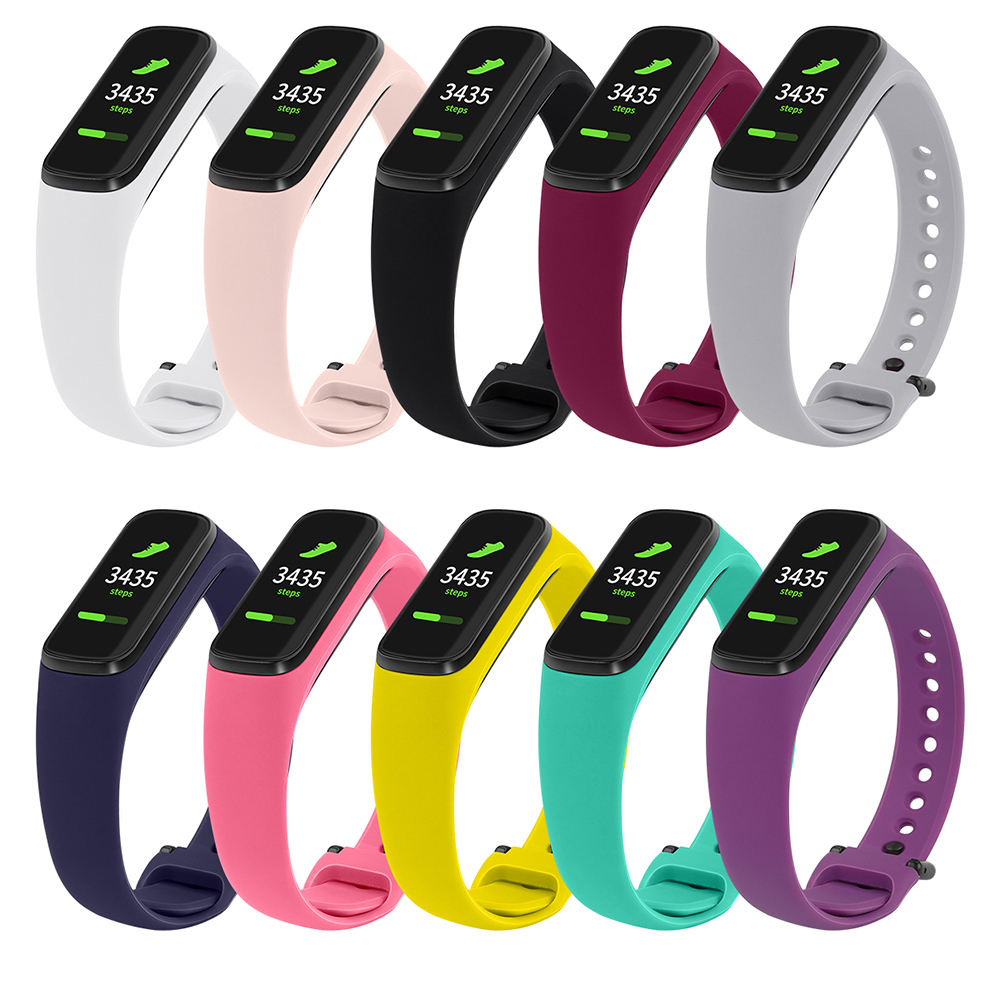 Wholesale Soft Silicone TPU Watch Strap Band for Samsung Galaxy Fit E Watch Band