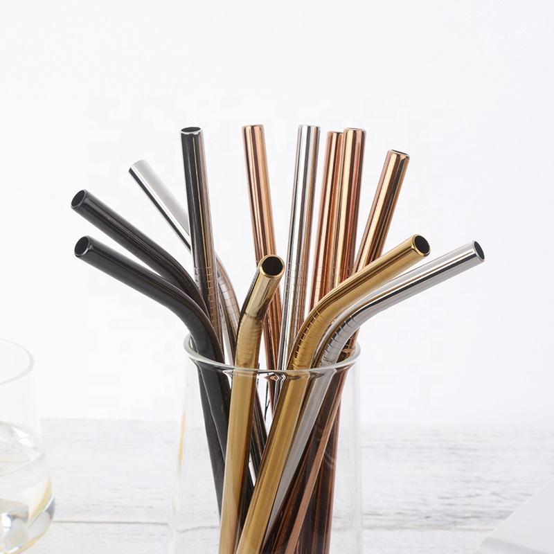 new design stainless steel drinking straws